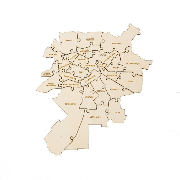 Puzzle Miejskie   LUBLIN