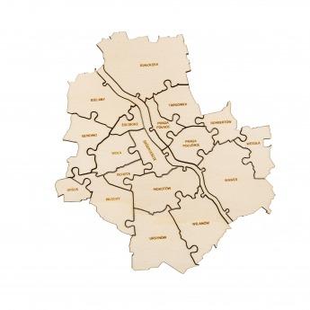 Puzzle Miejskie | WARSZAWA