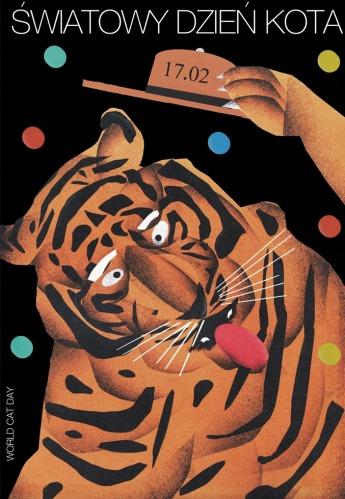 światowy dzień kota - tygrys