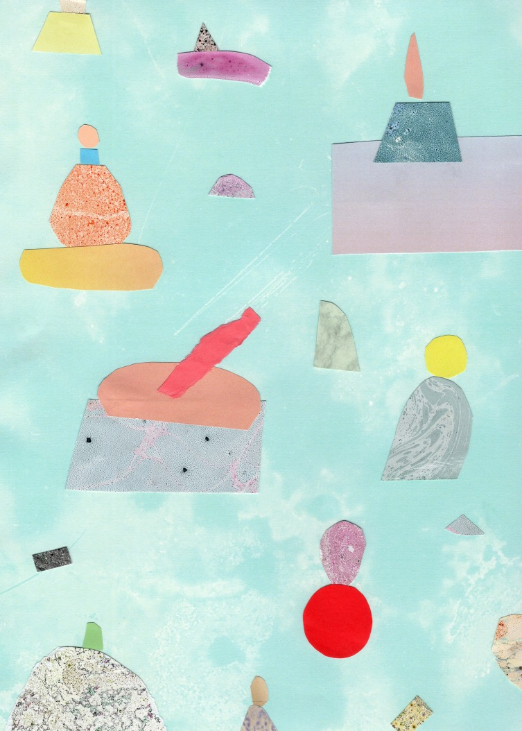 Lava cakes collage