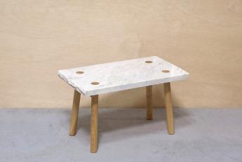 Stolik Marmurowy / Marble Fragments I