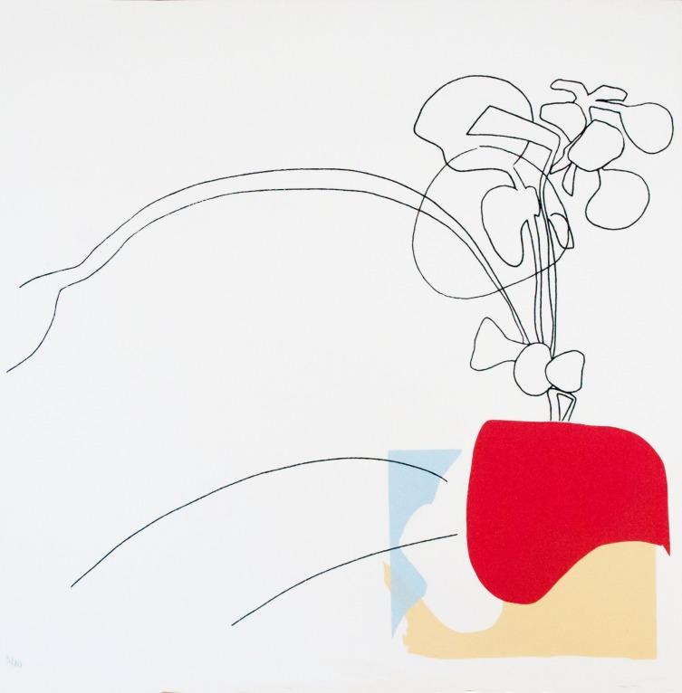 Red Ikebana