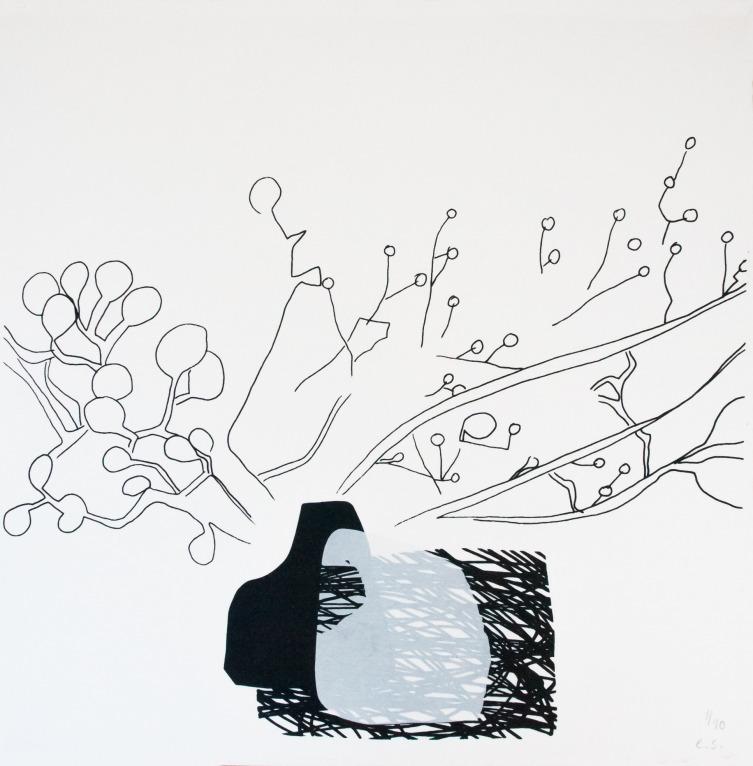 Black Ikebana